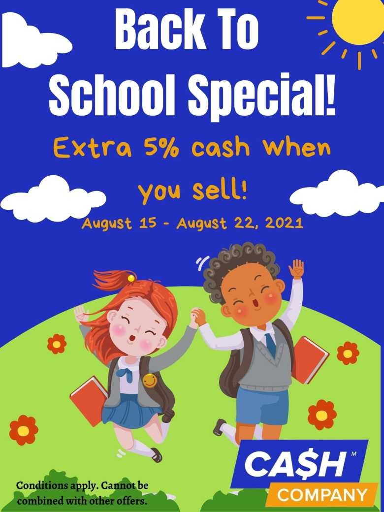 Extra 5% cash when you sell! (1) (1)